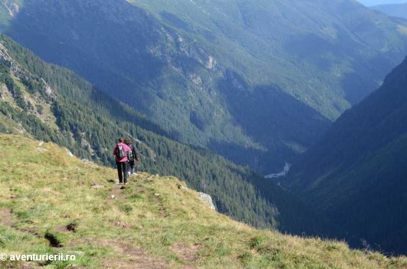 inapoi spre Valea Rea